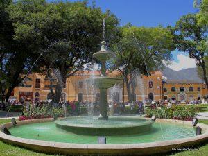 plaza de armas de huanuco