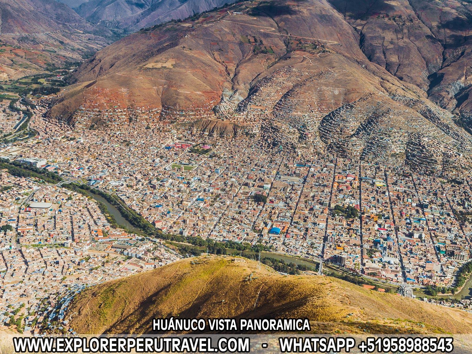 HUÁNUCO VISTA PANORAMICA