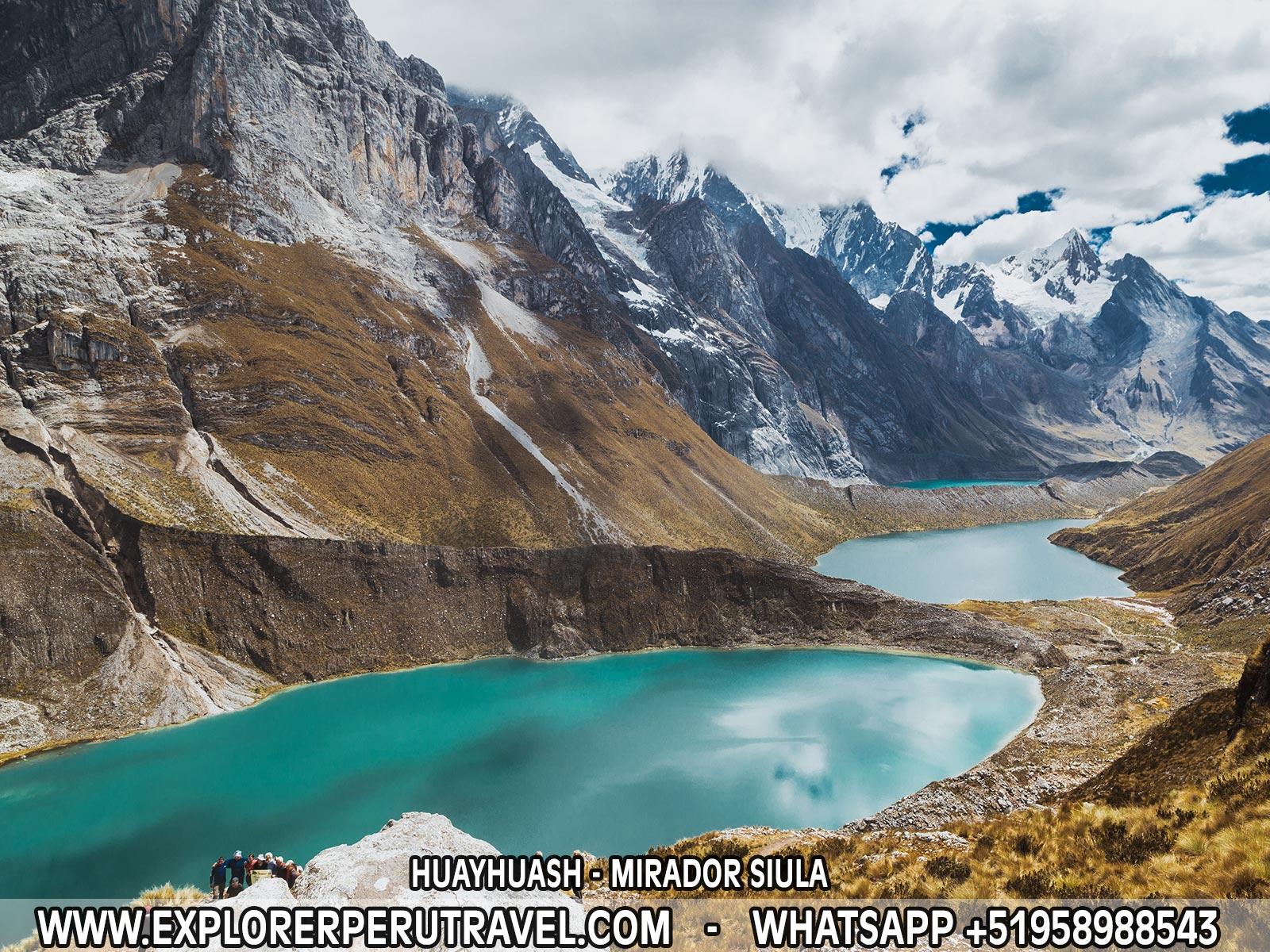 CORDILLERA DE HUAYHUASH - MIRADOR SIULA